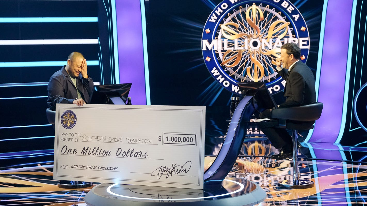 Exclusive: Chef David Chang 'can't believe' he won big for charity on 'Who Wants To Be A Millionaire'