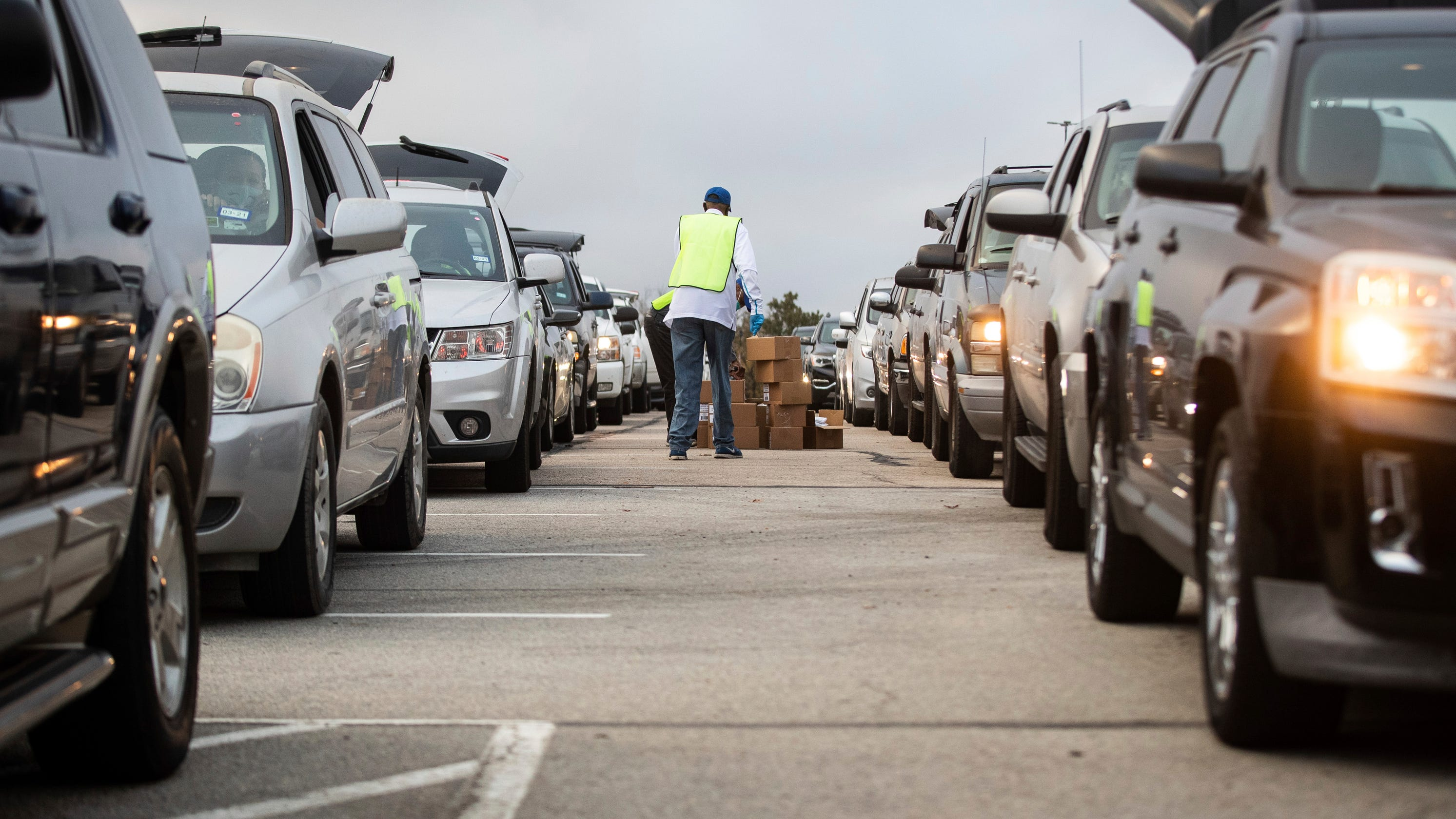 A two-mile line in Arizona. A four-hour wait in Ohio. Millions seek help to avoid going hungry on Thanksgiving.
