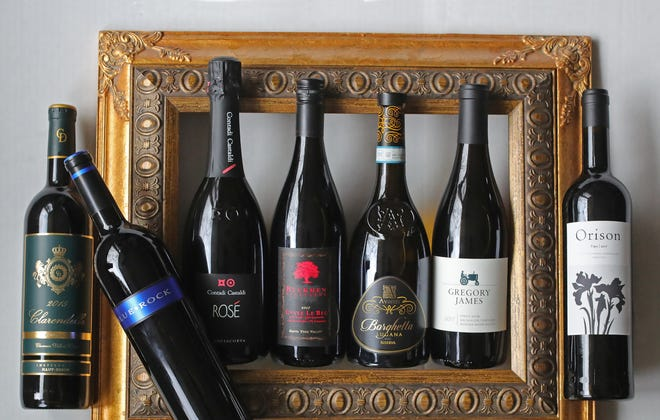 This year's Feast of the 7 Delicious wines come from Italy, France, Portugal and California.