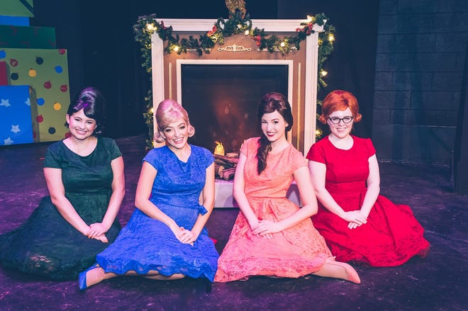"""The cast of ALT's upcoming production of the """"Winter Wonderettes"""" which opens at the theater's mainstage Thursday."""