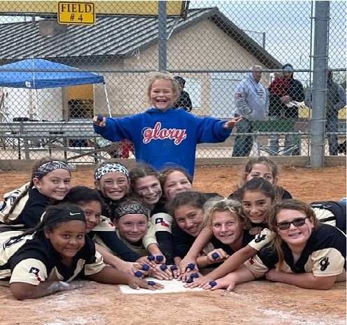 The 10U Glory Sheffield girls are pictured finishing in first place at last weekend's Turkey Bash Tournament at the Bert Massey Sports Complex, concluding the fall season. Brownwood City Council members have approved upgrades for the softball fields.