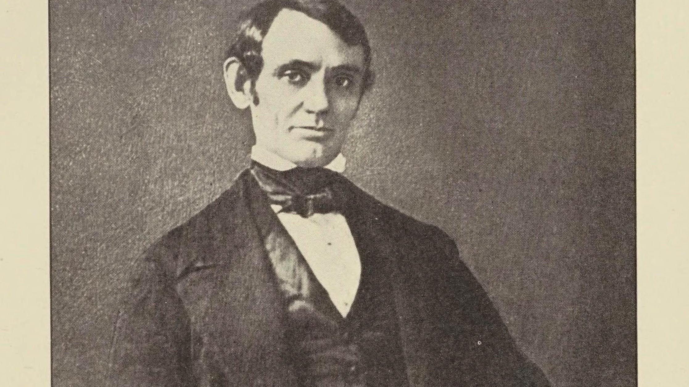 The Black Hawk War, a book found in the Library of Congress catalogue, includes a portrait of Capt. Abraham Lincoln.