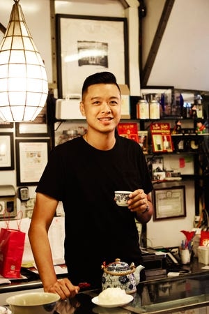 """Wilson Tang, author of """"The Nom Wah Cookbook: Recipes and Stories from 100 Years at New York City's Iconic Dim Sum Restaurant."""""""