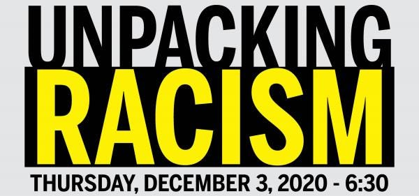 Swampscott will convene a public forum, virtually, on the topic of anti-racism on Thursday, Dec. 3 at 6:30 p.m.