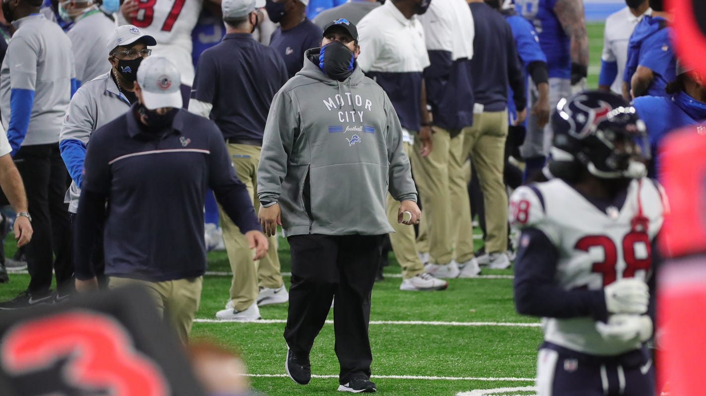 Matt Patricia is still Detroit Lions coach, and no one from the organization will say why