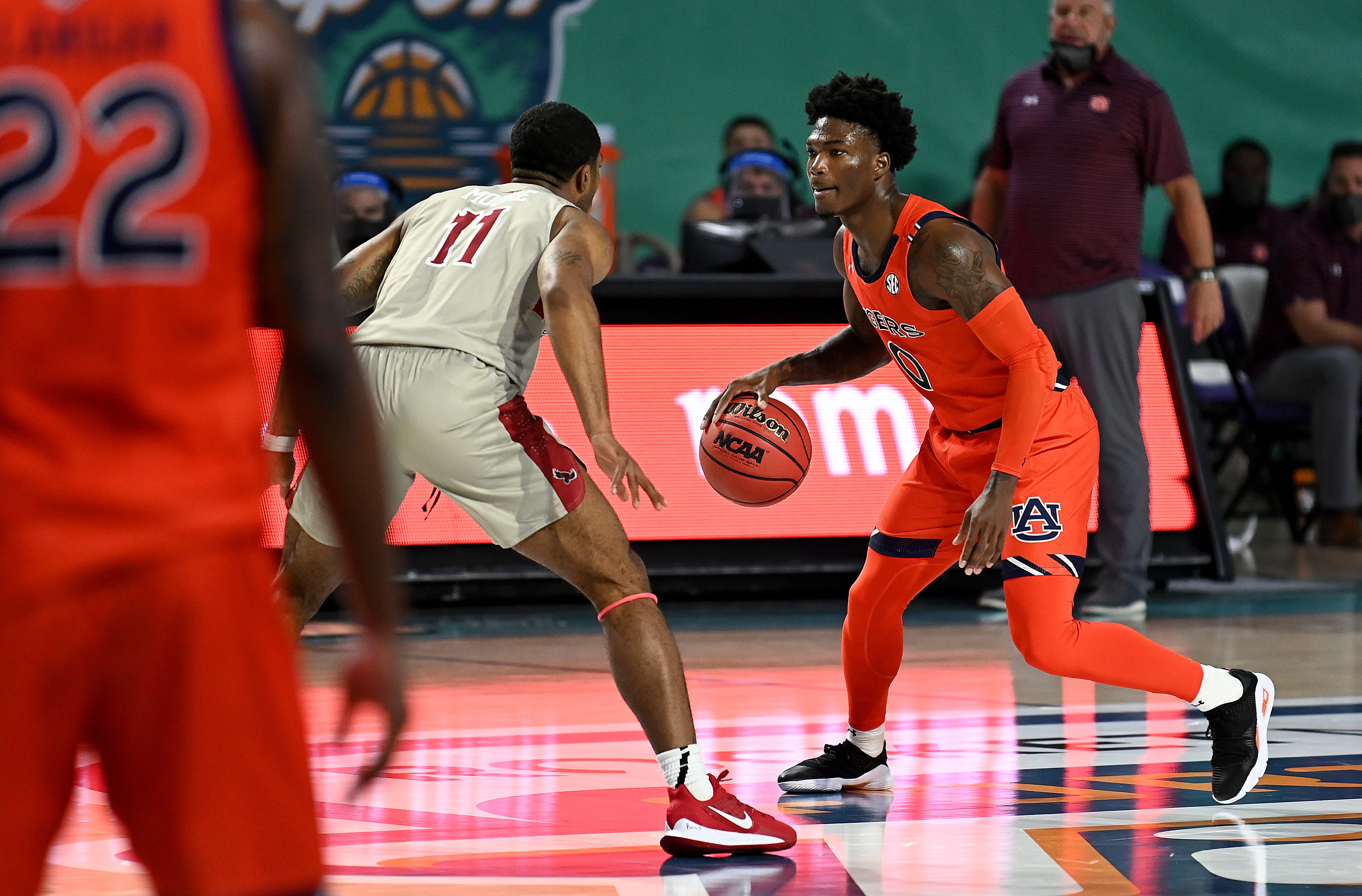 Without top recruit Sharife Cooper, Auburn escapes against St. Joseph's in overtime