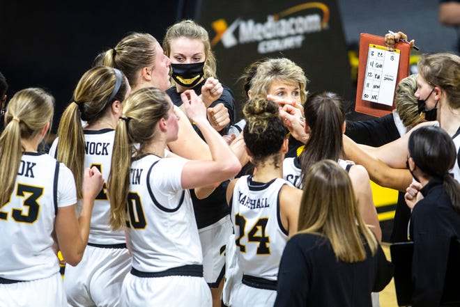 Iowa coach Lisa Bluder has the young Hawkeyes off to a 4-1 start.