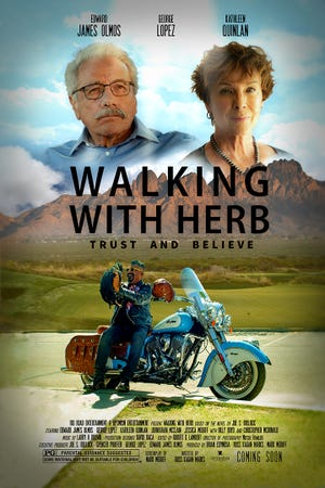 """""""Walking with Herb,"""" a movie filmed in Las Cruces, directed by a New Mexico State University professor and financed 90 percent locally will be distributed internationally next spring thanks to a deal in negotiation with Pure Flix/Quality Flix."""