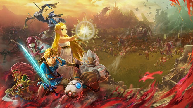 Hyrule Warriors: age of Calamity for the Nintendo Switch.