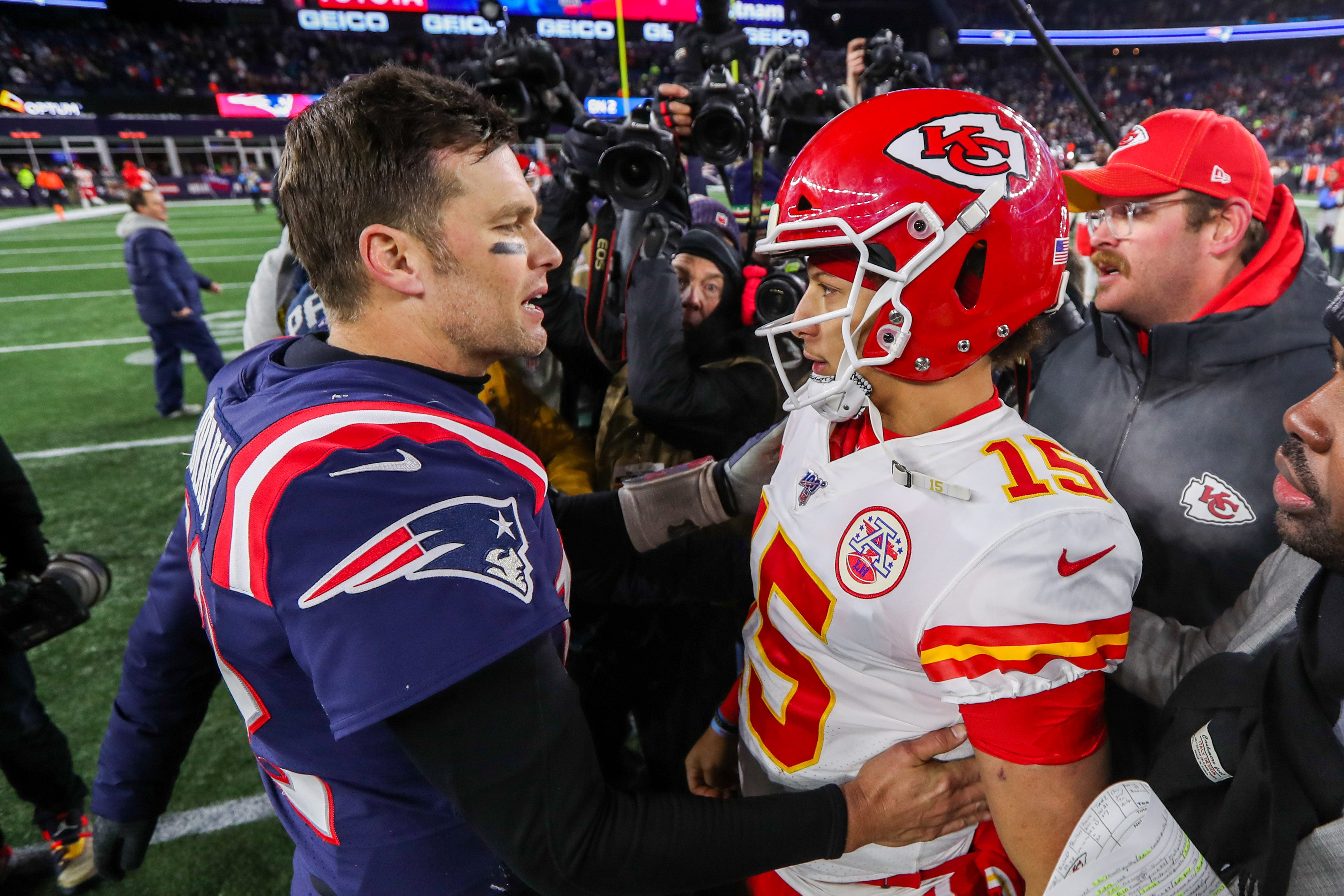 Opinion: As Tom Brady, Patrick Mahomes meet once again, NFL torch seemingly is passing