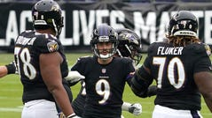 The NFL put the brakes on the Ravens-Steelers Thanksgiving night game because of Baltimore's COVID-19 issues. The game will be played Sunday.