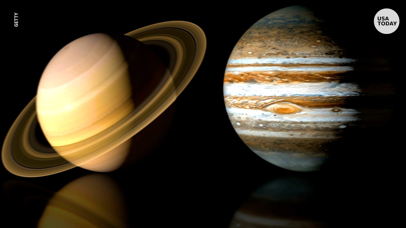 Worlds align this winter solstice: Jupiter and Saturn will look like a 'double planet' on Monday