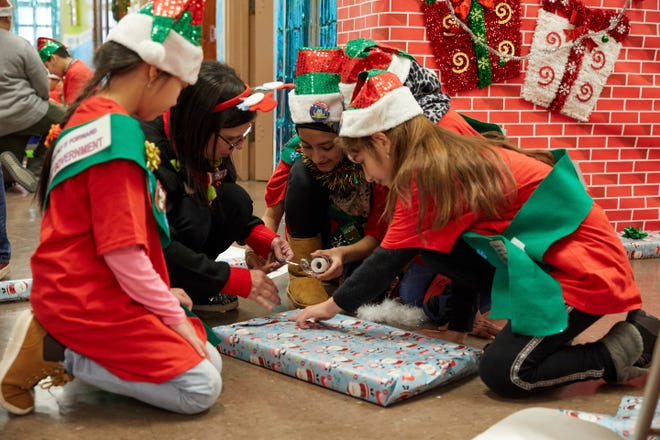 """This image released by IFC Films shows a scene from the documentary """"Dear Santa."""""""