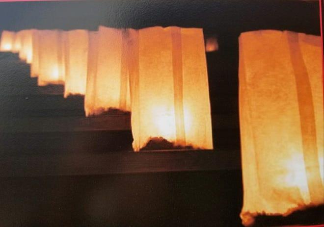 Luminaries will light up Bridgewater on Christmas Eve.