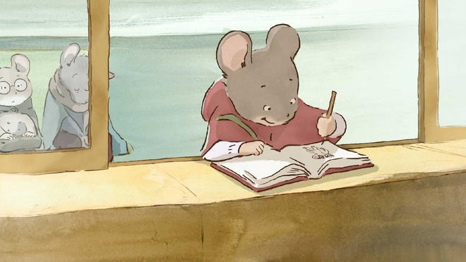 "A scene from the film ""Ernest & Celestine,"" which is part of the Zoom: Family Film Festival."