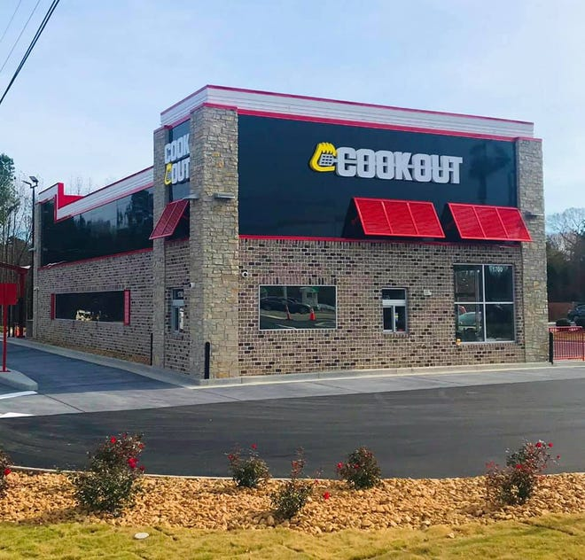 The Cookout on Cotton Grove Road in Lexington has opened