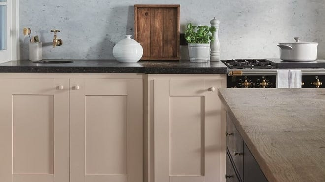 Painting cabinets is an easy way to update your kitchen.