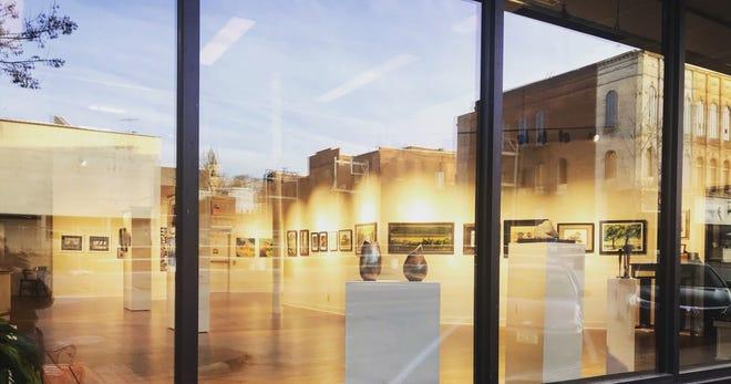 The annual All Member Show is open at the Art Center of Burlington, 301 Jefferson St. It runs through December.