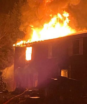 Firefighters in Exeter were called to 7 Greenleaf Drive around 3:45 a.m. on Thanksgiving.