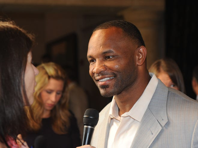 Former Jaguars' running back Fred Taylor, seen here at the Tim Tebow Foundation Celebrity Golf Classic event in 2012, and ex-teammate Tony Boselli are among 25 semifinalists for the Pro Football Hall of Fame. It'd be a nice consolation prize for a terrible season if the Jaguars finally had representation in Canton.