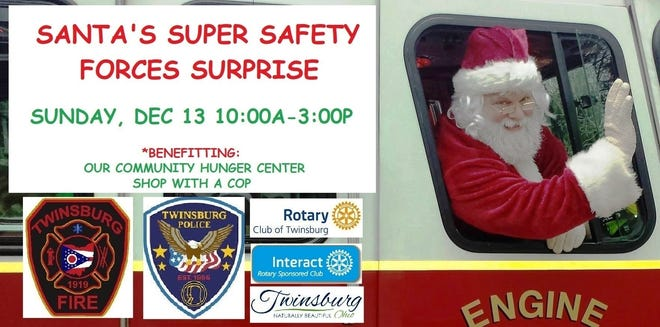 Santa's Super Safety Forces Surprise aims to bring the magic of the holidays to local families, as well as raise money and food for Shop with a Cop and Our Community Hunger Center.