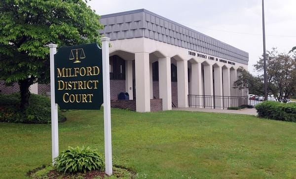 A Rhode Island man was arraigned Wednesday in Milford District Court on charges he sold fentanyl to a federal agent.
