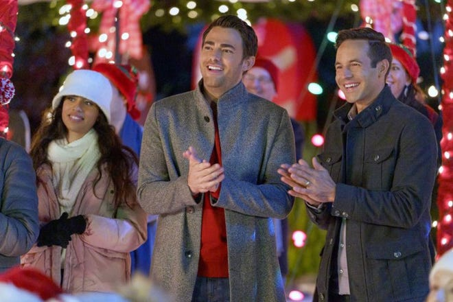 """A scene from """"The Christmas House."""""""