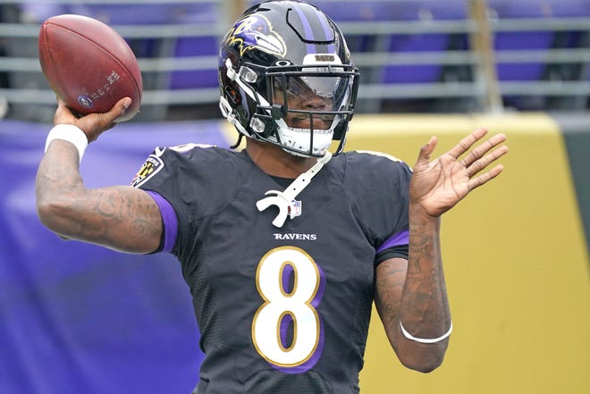 Ravens  quarterback Lamar Jackson has tested positive for COVID-19 and will not play against the Steelers on Tuesday night.