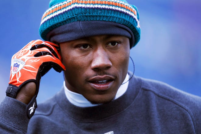 Former NFL wide receiver Brandon Marshall feels his proudest accomplishment came when he sought help for his mental illness.