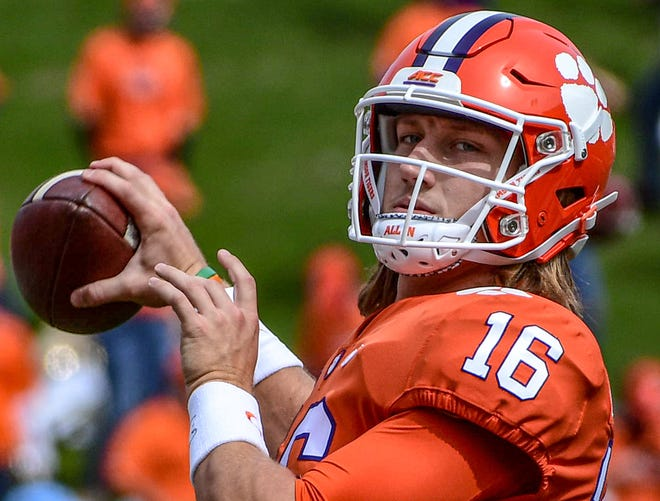 NFL teams have their eyes on Clemson's Trevor Lawrence, who very well could be the top pick of the next draft.
