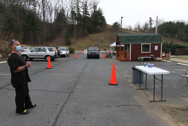 The drive thru testing site at the Madison County Health Department is open Monday-Friday, excluding holidays, from 8 a.m.-5 p.m.