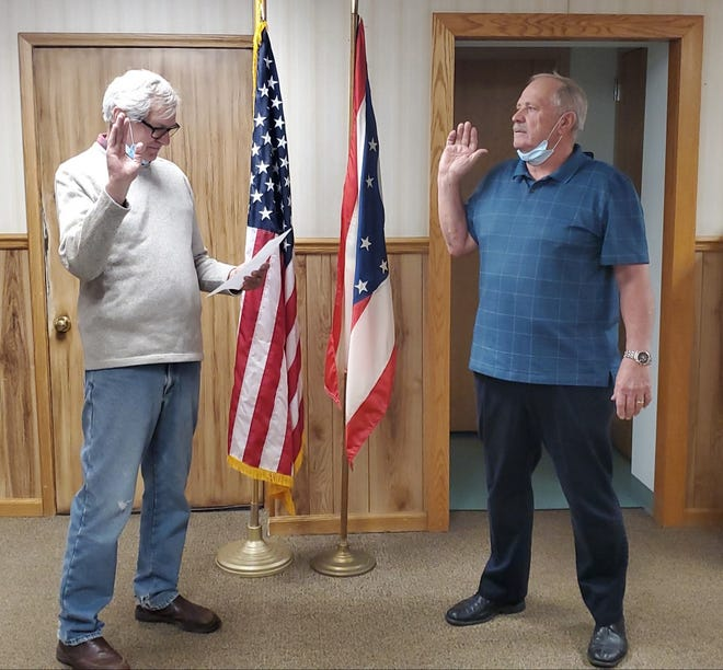 Gail Baldinger has been appointed by Galion Mayor Tom O'Leary as the city's new auditor.
