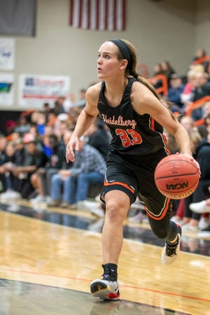 Brittanie Ulmer played for four years at Heidelberg before taking over the Bucyrus girls program.