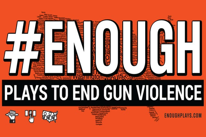 """Third Avenue Playhouse in Sturgeon Bay is the only theater in Wisconsin taking part in the """"#ENOUGH: Plays to End Gun Violence"""" virtual  play readings Dec. 14."""