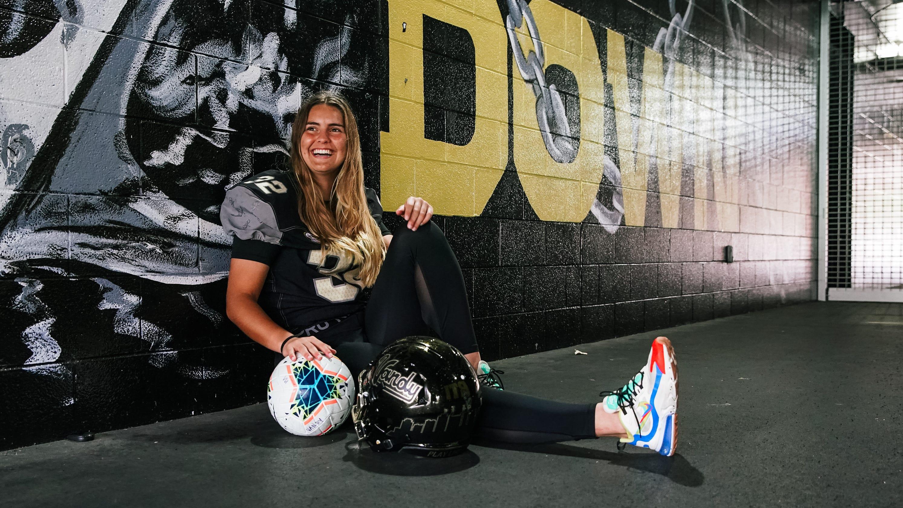 Vanderbilt's Sarah Fuller ready to become first woman SEC football player