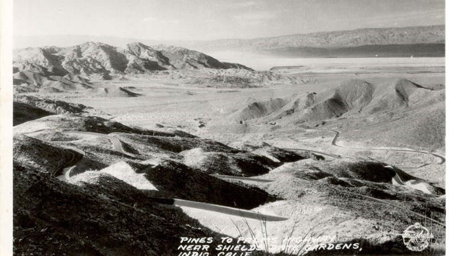 Palms to Pines Highway is seen in this undated photo.