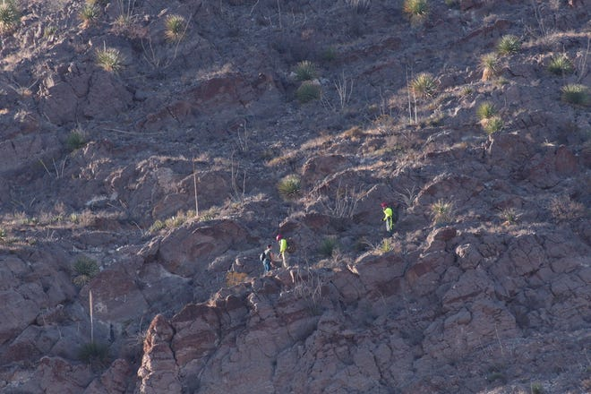 El Paso police and fire rescued a hiker stuck on a mountain Friday near McKelligon Canyon in Northeast El Paso.