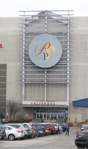 Black Friday shoppers at the Palisades Center in West Nyack on Friday, Nov. 27, 2020.
