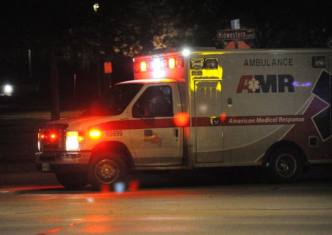 Wichita Falls Police and paramedics responded to an assault Thursday night.
