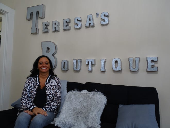 Teresa Rock started selling her curated clothing collection out of her home in August. It was just a hobby. Today she has a brick-and-mortar storefront for her shop, Teresa's Boutique Sassy & Classy, in a historic building at 1419 Maple Ave.