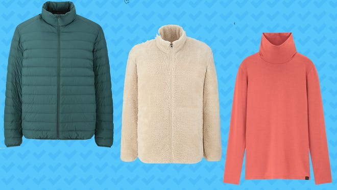Uniqlo's Black Friday deals include puffers, fleeces and turtlenecks.