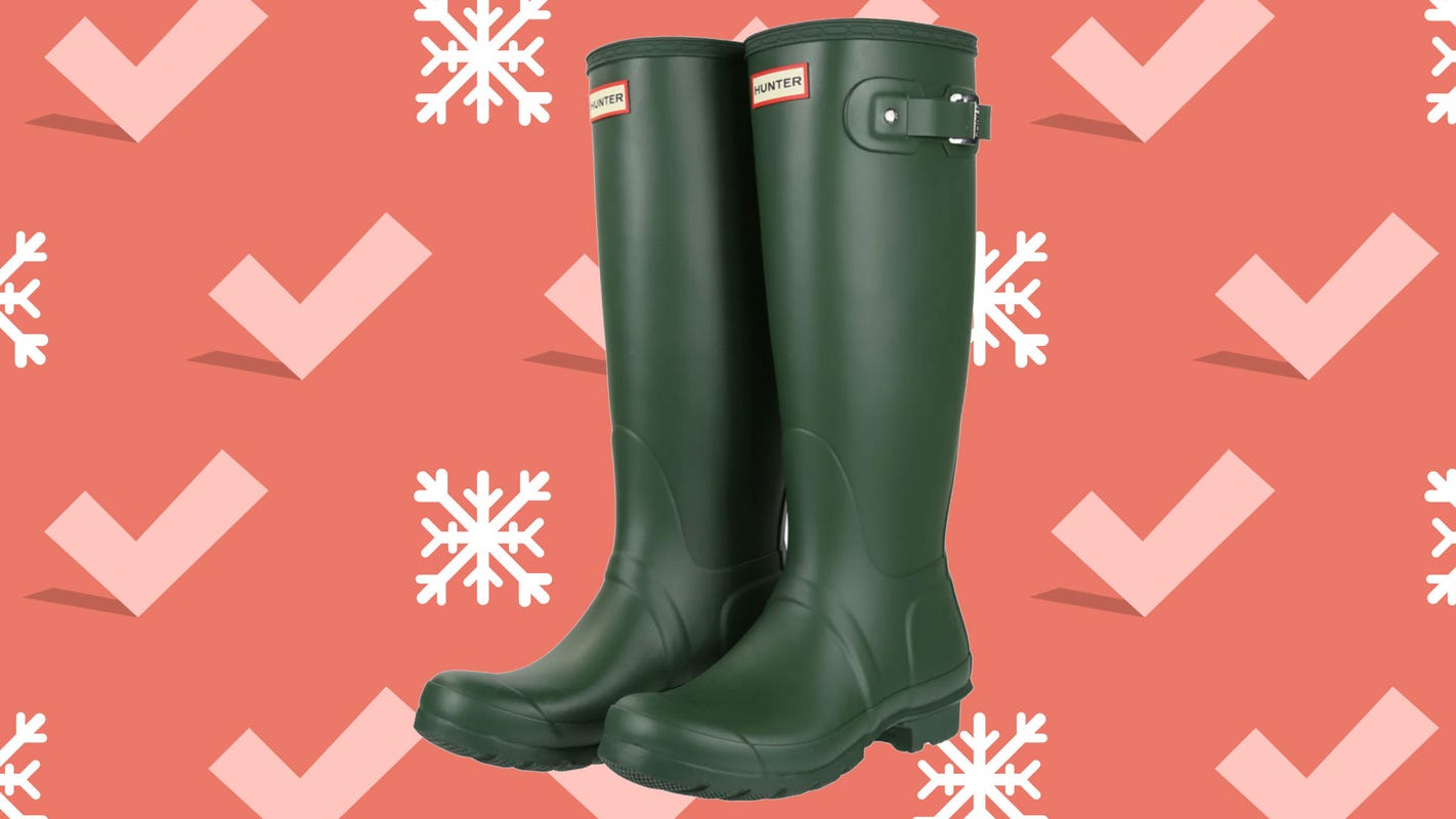 Hunter rain boots are on sale from $55 during Black Friday 2020