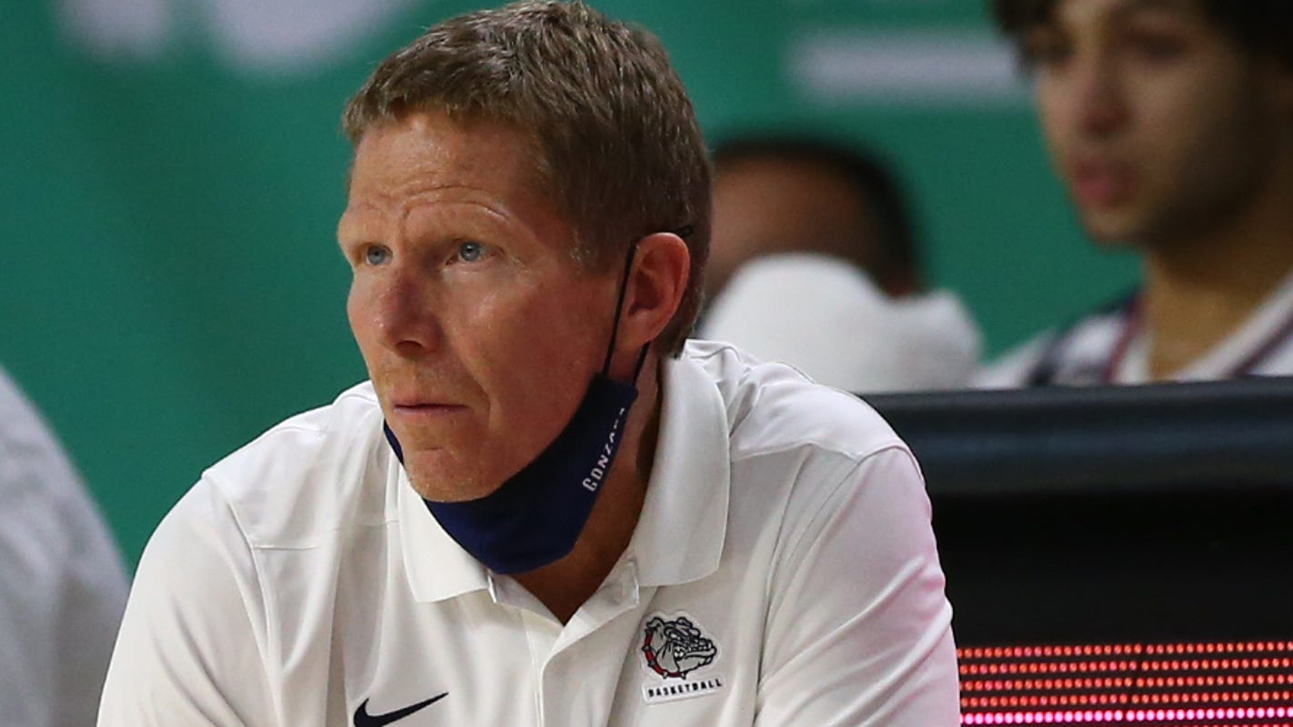Gonzaga men's basketball coach Mark Few confirms that player, staff member tested positive for COVID-19