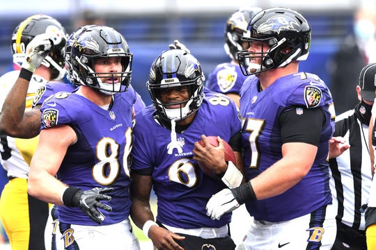 The Ravens' game against the Steelers has been pushed to Wednesday.