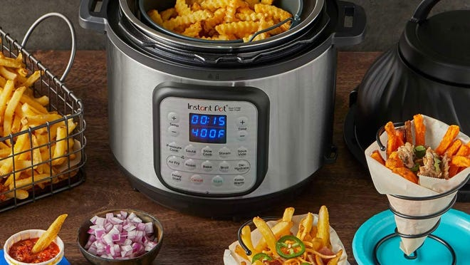 Black Friday 2020: The Instant Pot Duo Crisp is a pressure cooker and air fryer in one.