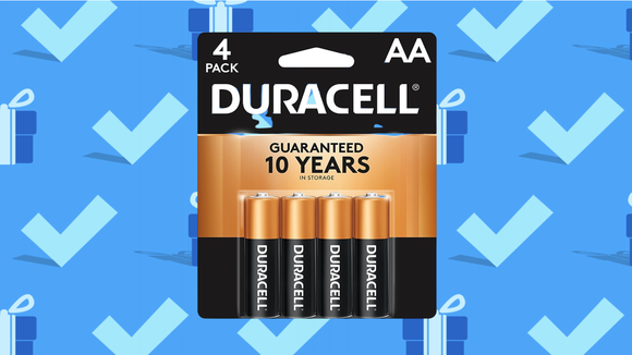 Black Friday 2020: Duracell Coppertop AA Alkaline Batteries (four-pack).