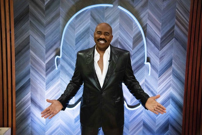 """Family Feud"" host Steve Harvey, a former Cleveland resident and Kent State alumnus, is among the celebrities featured on Cameo."