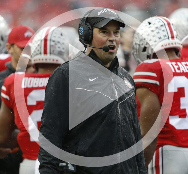 Ohio State football coach reportedly has tested positive for COVID-19 and will miss the Buckeyes' game on Saturday at Illinois.