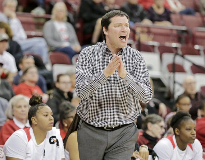 Ohio State women's basketball coach Kevin McGuff is among many coaches in college basketball keeping tabs on games lost to the coronavirus.
