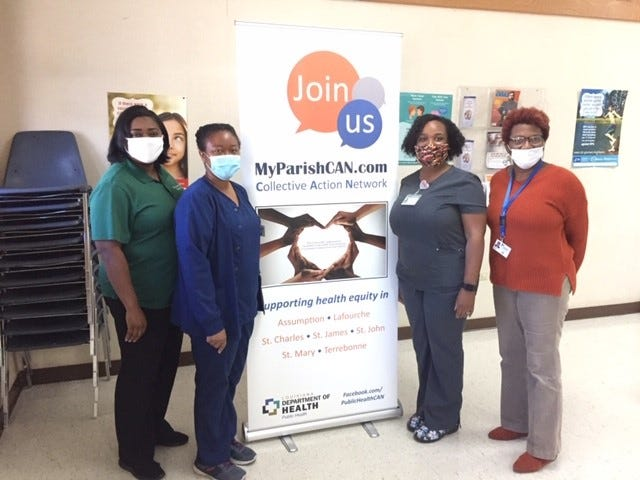 The Terrebonne Parish public health team launches MyParishCAN.com to connect with local coalitions.